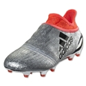 adidas X 16+ Purechaos FG Junior (Silver Metallic/Black/Solar Red)