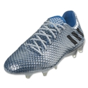 adidas Messi 16.1 FG (Silver Metallic/Black/Shock Blue)