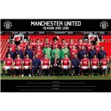 Manchester United 15/16 Roster Poster