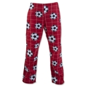 Soccer Ball and Net Lounge Pants (Red)