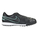 Nike Junior Tiempo Legend 6 TF (Black/Hyper Turquoise)