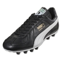 Puma King Maradona Super FG (Black/White/Team Gold)