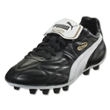 PUMA King Top Di FG (Black/White/Team Gold)