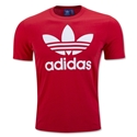 adidas Originals Trefoil T-Shirt (Red)