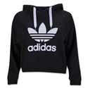 adidas Cropped Hoody (Black)