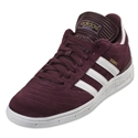 adidas Busenitz (Light Maroon/Running White/Metallic Gold)