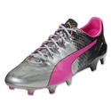 Puma evoSpeed Sl II 2016 Celebration Pack FG (Silver Metallic/Black/Safety Yellow)