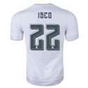Real Madrid 15/16 Isco Home Soccer Jersey
