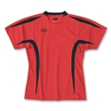 Xara Women's Goodison Soccer Jersey (Red/Blk)
