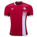Canada 2016 Home Soccer Jersey