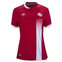 Canada 2016 Women's Home Soccer Jersey