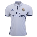 Real Madrid 16/17 Home Soccer Jersey