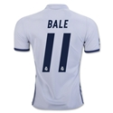 Real Madrid 16/17 BALE Home Soccer Jersey