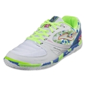 Joma Sala Max Indoor Shoe (White/Blue/Green)