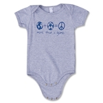 Objectivo More Than a Game Infant Onesie (Gray)