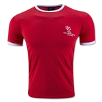 UEFA Champions League Ringer T-Shirt (Red)
