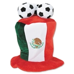 Mexico 3 Soccer Ball Plush Hat