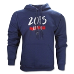 USA Women's World Cup Champions Hoody (Navy)