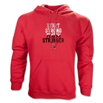 Ohio State Rugby Finish Stronger Hoody (Red)