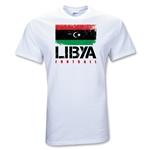 Libya Football T-Shirt (White)