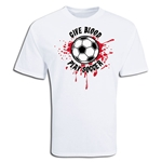 Give Blood Soccer T-Shirt