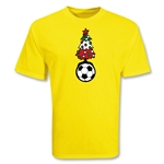 Christmas Tree Soccer T-Shirt