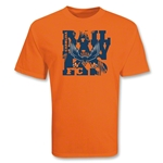 Carolina Railhawks Orange Soccer T-Shirt