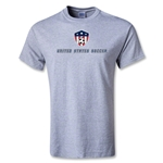 Utopia United States Soccer T-Shirt (Gray)