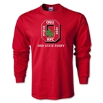 Ohio State Rugby Long Sleeve T-Shirt (Red)