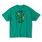 The World's Game Soccer T-Shirt (Green)