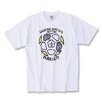 The World's Game Soccer T-Shirt (White)