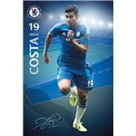 Chelsea Diego Costa Poster