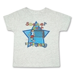Soccer Star in Training T-Shirt (Gray)