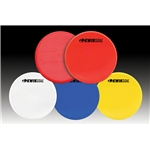 Kwik-Goal Flat Round Markers 10 Pack (Red)