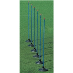 Kwik Goal 6-Pack Premier Coaching Sticks (Royal)