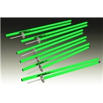Kwik Goal Coaching Stick 2Go (Neon Green)