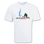 USA The Hand of Clod Soccer T-Shirt