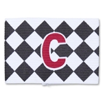 Captain Armband Diamond Pattern (Wh/Bk)