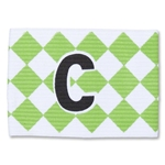 Captain Armband Diamond Pattern (Wh/Gr)