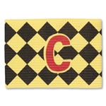 Captain Armband Diamond Pattern (Yl/Bk)