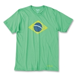 Objectivo Ultras Brasil Flag Soccer Field T-Shirt (Green)