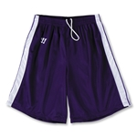 Warrior Velocity Lacrosse Shorts (Pur/Wht)