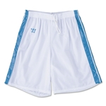 Warrior Velocity Lacrosse Shorts (Wh/Sky)
