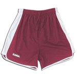Xara Preston Shorts (Maroon/Wht)