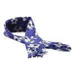 Soccer Ball Fleece Scarf (Purple)