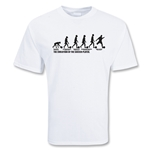 Soccer Evolution T-Shirt (White)