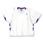 Warrior Evolution Game Lacrosse Jersey (Wh/Pu)