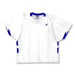 Warrior Evolution Game Lacrosse Jersey (Wh/Ro)