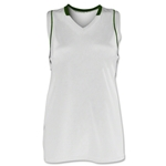 Brine Icon Racer Back Game Women's Lacrosse Jersey (Wh/Dgr)