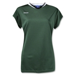 Brine Anthem Cap Sleeve Women's Game Jersey (Dk Gr/Wht)